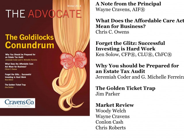 The Advocate-Winter 2014