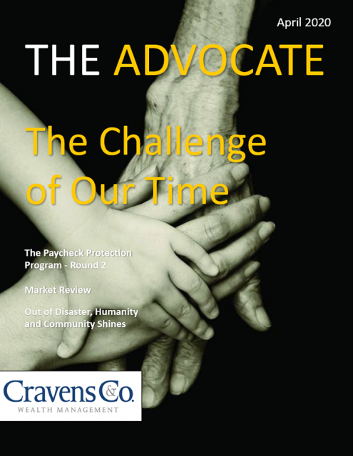 The Advocate - April 2020